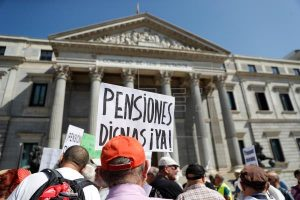 """Podemos: """"El Pacto de Toledo cierra una propuesta sobre pensiones que busca garantizar la sostenibilidad del sistema"""""""