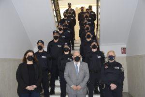 16 nuevos agentes se suman al cuerpo de la Policía Local de Cieza
