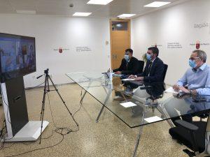 El Gobierno regional solicita al de España que no se apruebe el decreto para el cambio de las reglas de explotación del trasvase Tajo-Segura