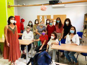 Melba Miñano se reunió con los afiliados de ONCE en Cieza